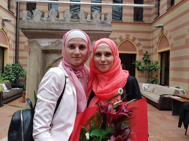 Hafiza Lejla s muhaffizom hfz. Sumejom