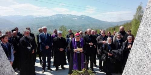 Historijski dan: Predstavnici vjerskih zajednica obišli mjesta stradanja