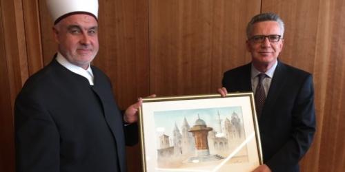 Reisu-l-ulema se sastao sa njemačkim ministrom unutrašnjih poslova