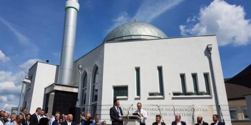 Reisu-l-ulema na otvorenju džamije u Wittenu