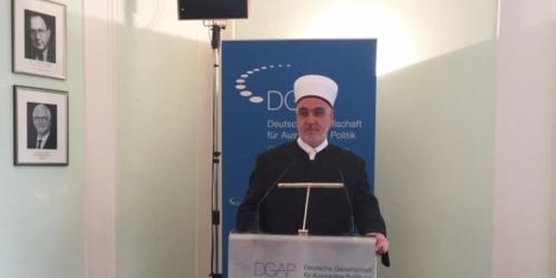 Reisu-l-ulema održao govor pred Njemačkim društvom za vanjsku politiku