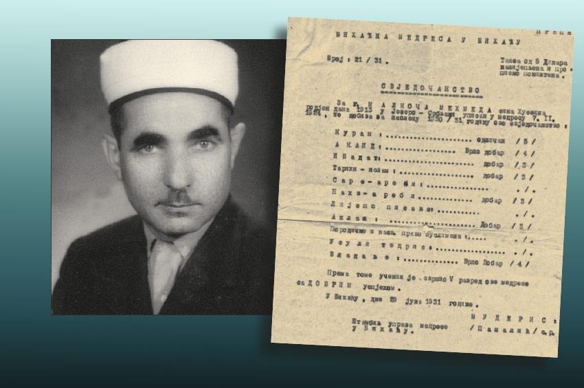 ZABORAVLJENI KRAJIŠKI IMAMI - Mehmed-ef. Malkoč 1913-1991