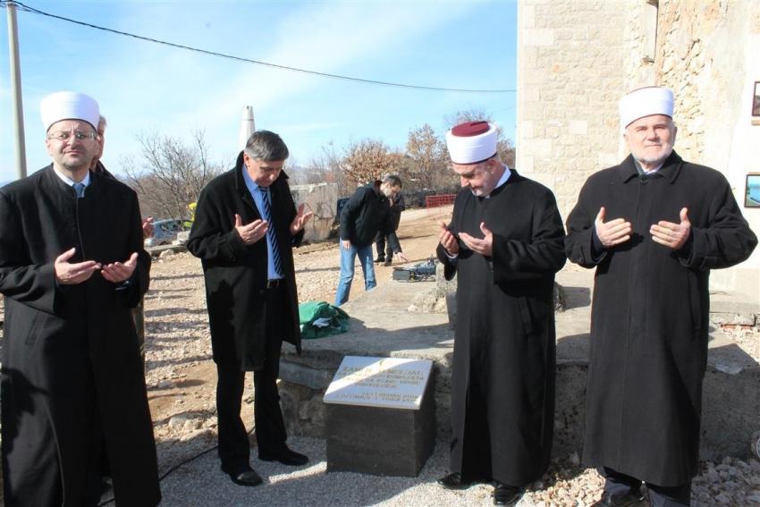 Podveležje: Položen kamen-temeljac za Centar za stare osobe