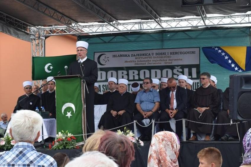 Derventa: Svečano otvorena prelijepa Donjačka džamija