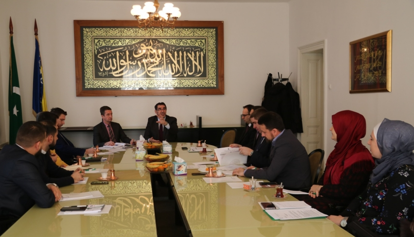 """Susret sa koordinatorima """"Mreže mladih"""" Islamske zajednice"""