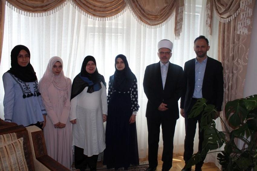 Prijem za nove hafize u Muftijstvu sarajevskom