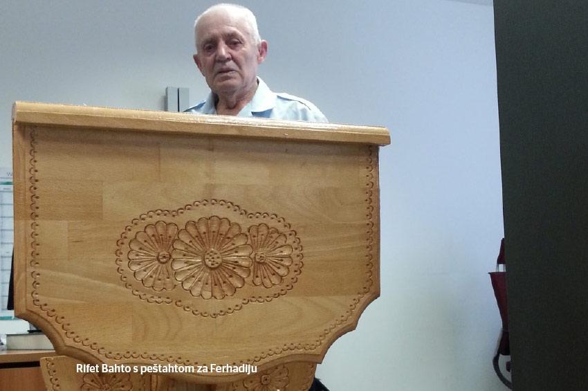 Rifet Bahto – vakif i umjetnik -Poklon Ferhadiji za obnovljenu hafisku mukabelu