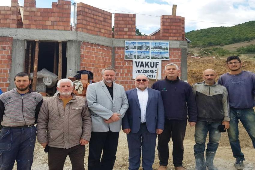 Muftija Dudić obišao džamije u izgradnji