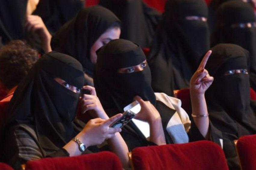 Kino u Saudijskoj Arabiji, bend sa Zapada u Iranu
