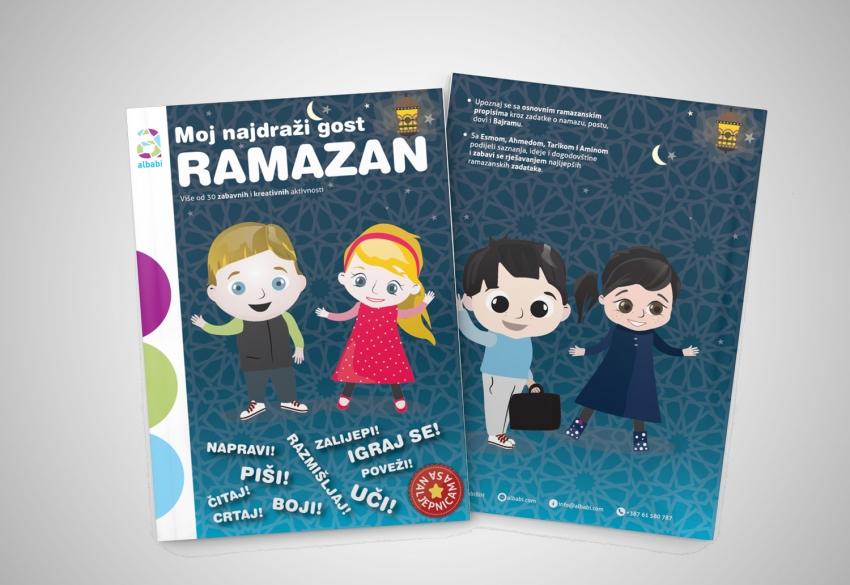Poklon za djecu: Ramazanska knjiga aktivnosti