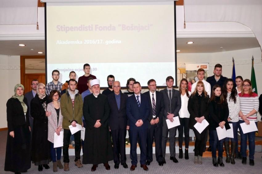 Konkurs za dodjelu stipendija Fonda Bošnjaci