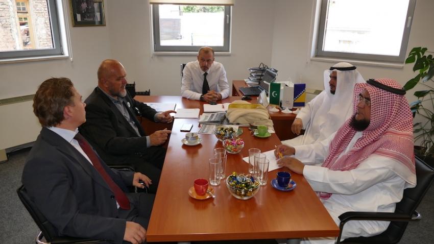 Delgacija iz Kuvajta u posjeti institucijama IZ