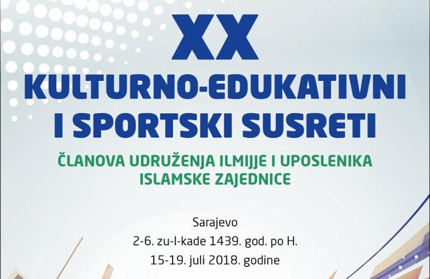 Jubilarni 20. susreti članova Udruženja ilmijje i uposlenika IZ