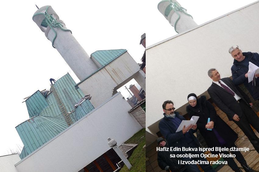 Vratiti sjaj  Bijeloj džamiji u Visokom