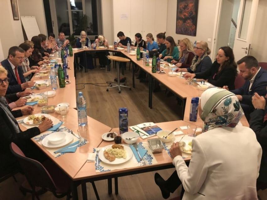 Iftar u Predstavništvu Islamske zajednice u Briselu