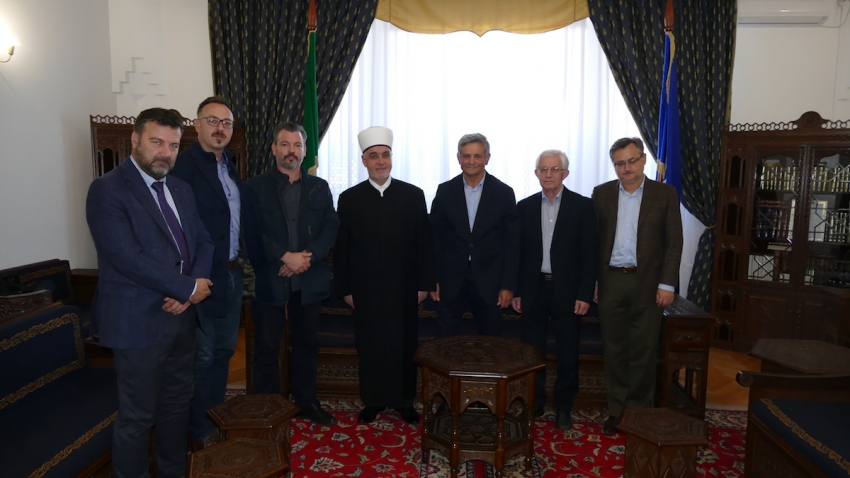"""Voditelji projekta """"Edicija Bošnjaka"""" kod reisu-l-uleme"""