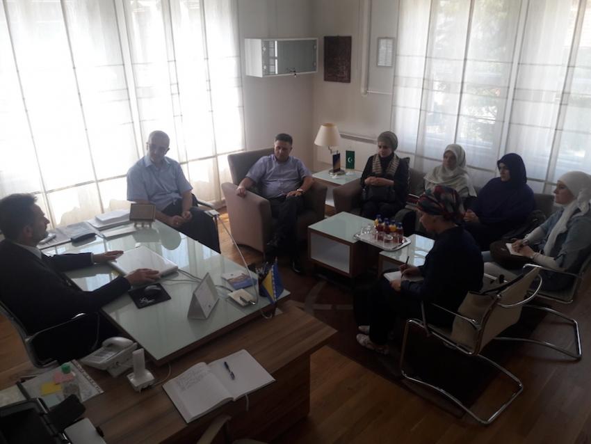 Udruženje vjeroučitelja KS posjetili Upravu za obrazovanje i nauku