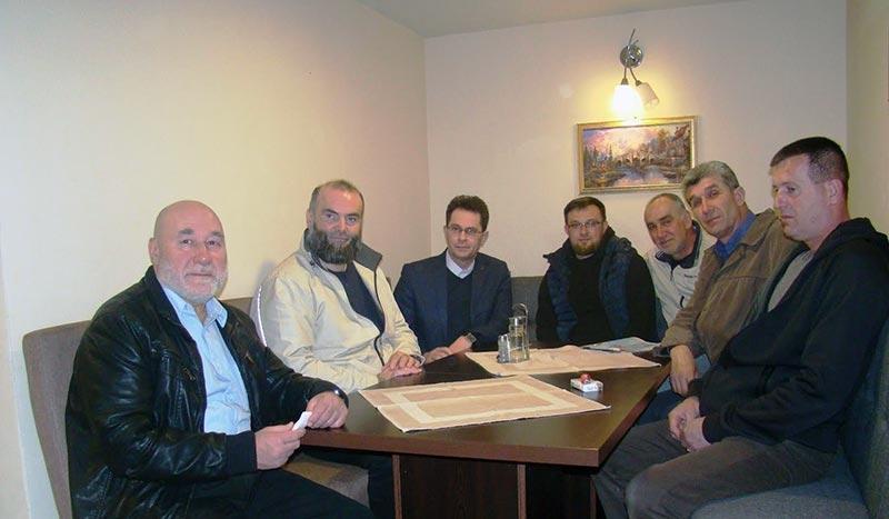 Ispraćaj u penziju Sujejmana Hodžića sekretara Medžlisa IZ Bosanski Petrovac