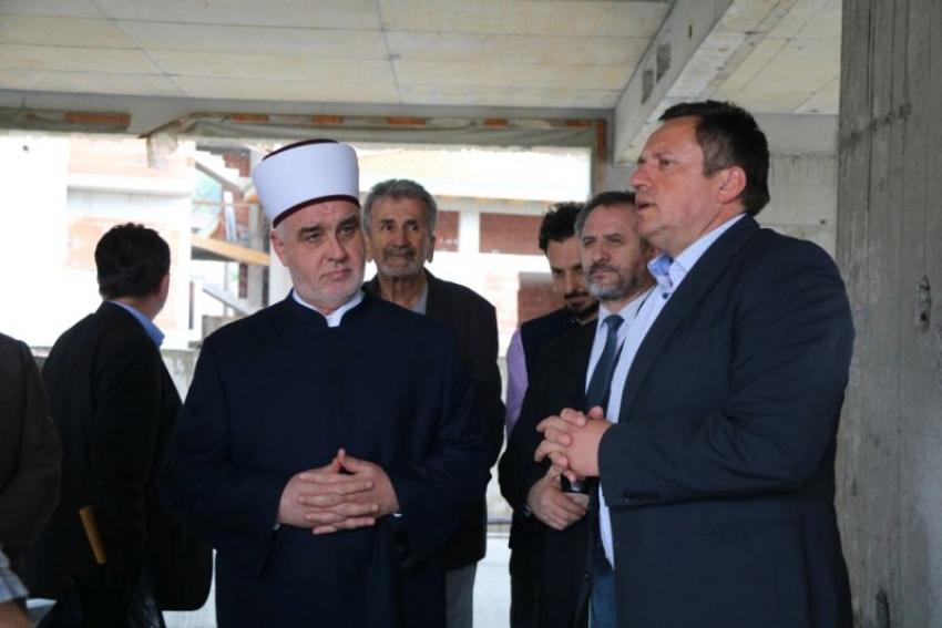 Reisu-l-ulema obišao gradilište Upravne zgrade Rijaseta