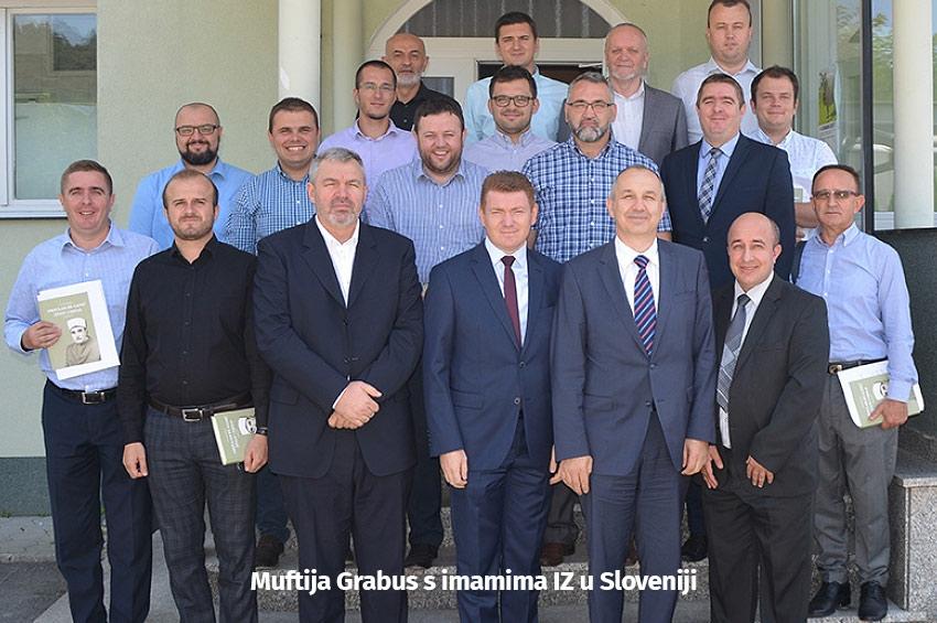 Radni sastanak imama u Ljubljani - Aktivnosti u povodu stoljeća IZ u Sloveniji