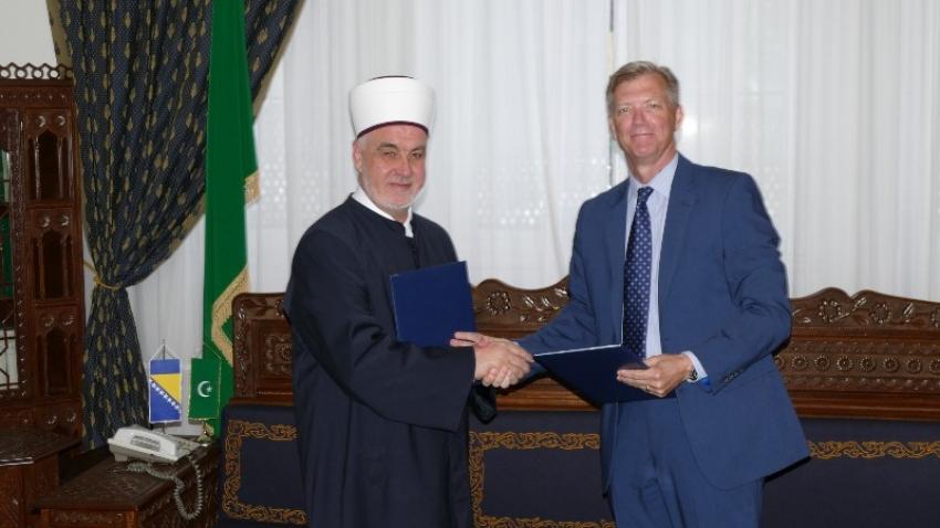 Islamska zajednica u BiH i Misija OSCE-a u BiH potpisale Izjavu o saradnji