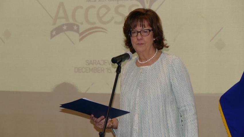 Sarajevo: Ambasadorica Cormack uputila poruku mladima u BiH