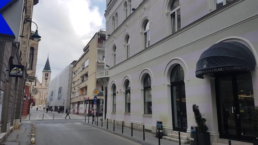 Oduzeti vakufi: Zgrada hotela Central