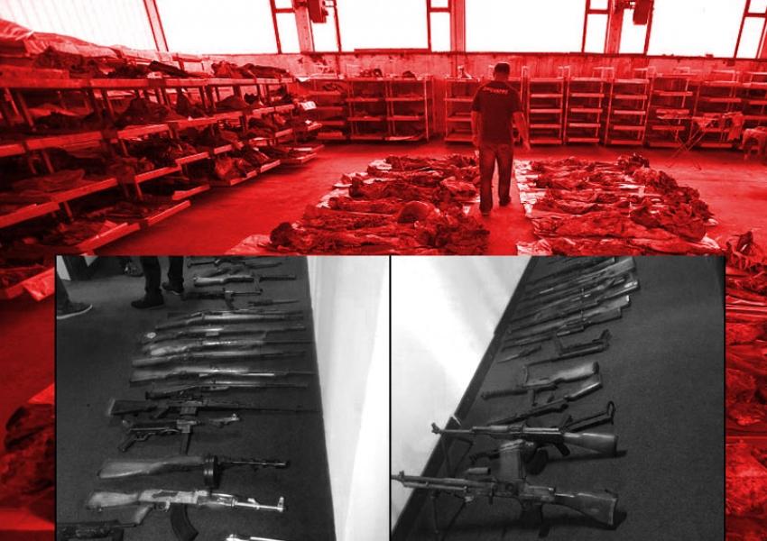 Prijedor: Vrste oružja korištenog u genocidu