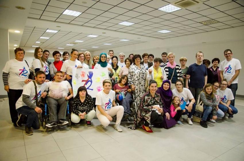Livno: Radionica za osobe sa smetnjama u razvoju