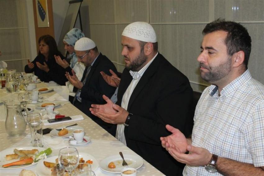 Mostar: Iftar za uposlenike Medžlisa