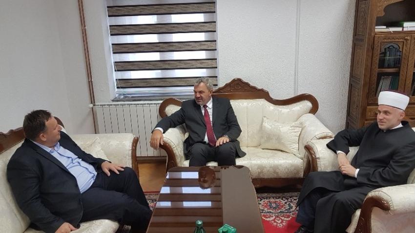 Rukovodilac Ureda za društvenu brigu u zvaničnoj posjeti Bihaćkom muftijstvu