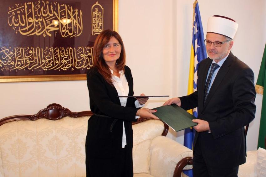 Muftijstvo sarajevsko i World Vision potpisali Protokol o saradnji