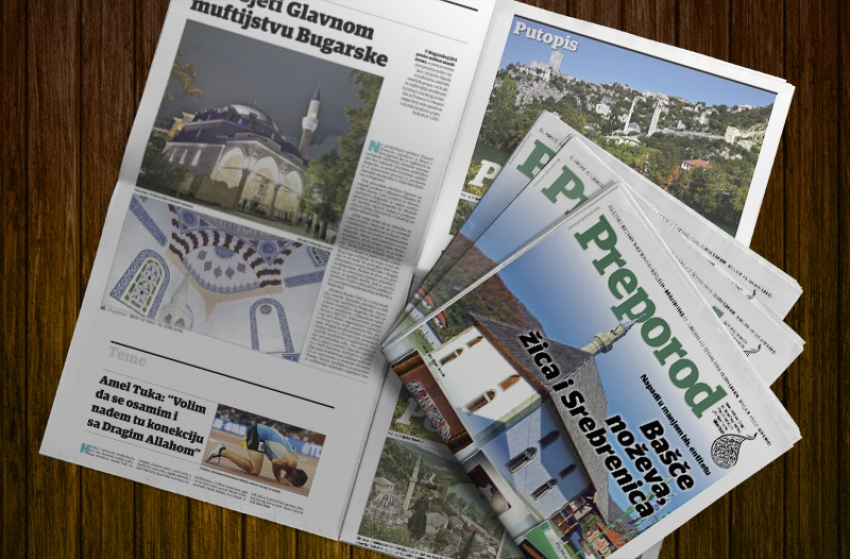 Novi broj Preporoda: Lažni svijet mira - Bašče noževa, žica i 'Srebrenica'