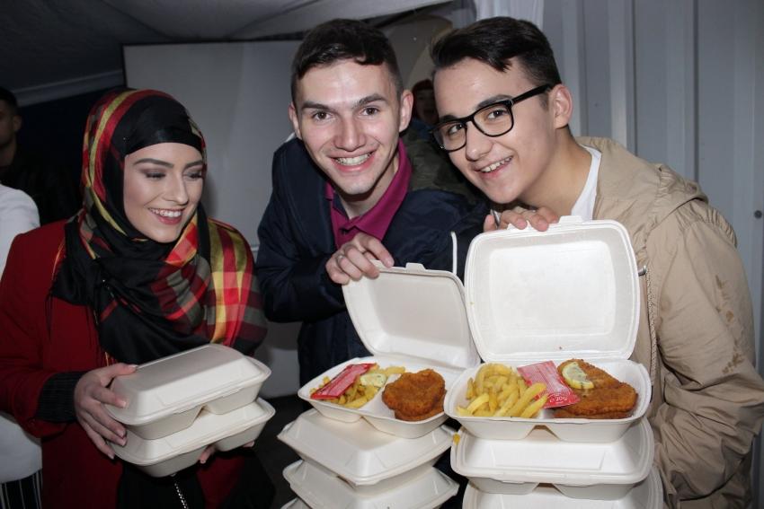 Omladinski iftar u Austriji