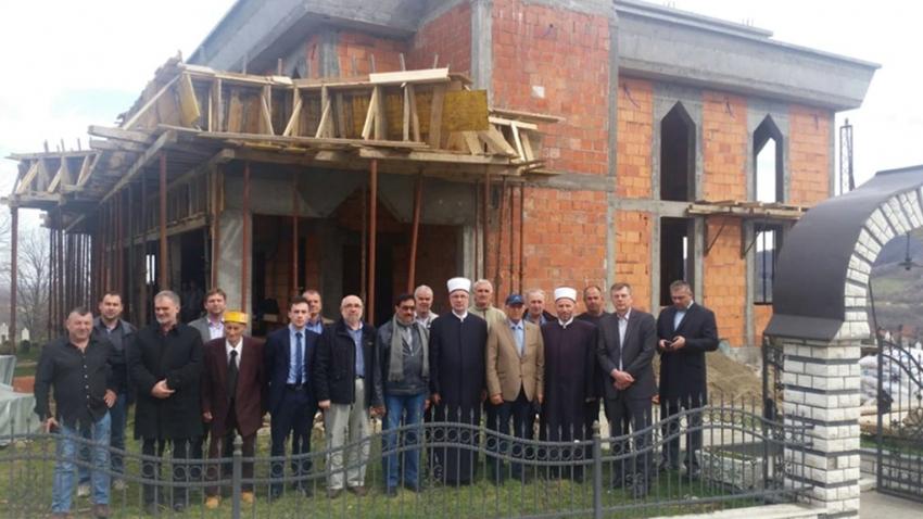 Čelić: Nastavak izgradnje džamije u džematu Brdo