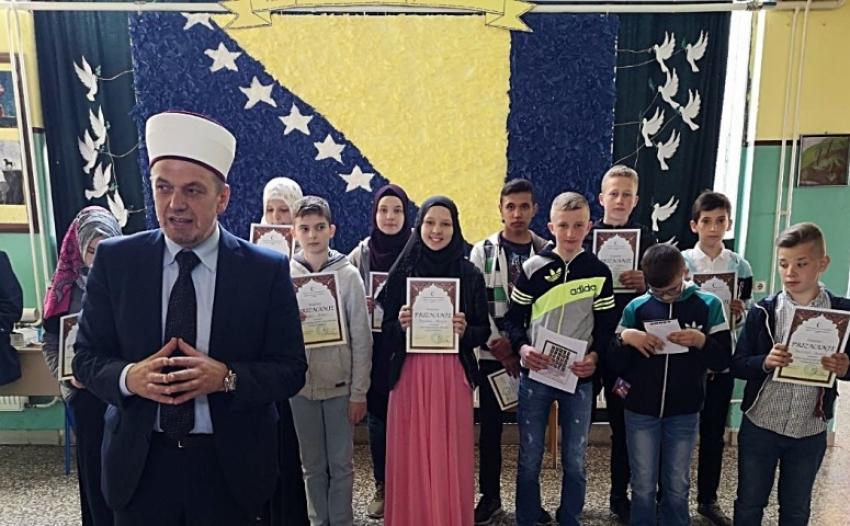 Takmičenje otvorio i nagrade uručio glavni imam MIZ Žepče Džafer ef. Gračić
