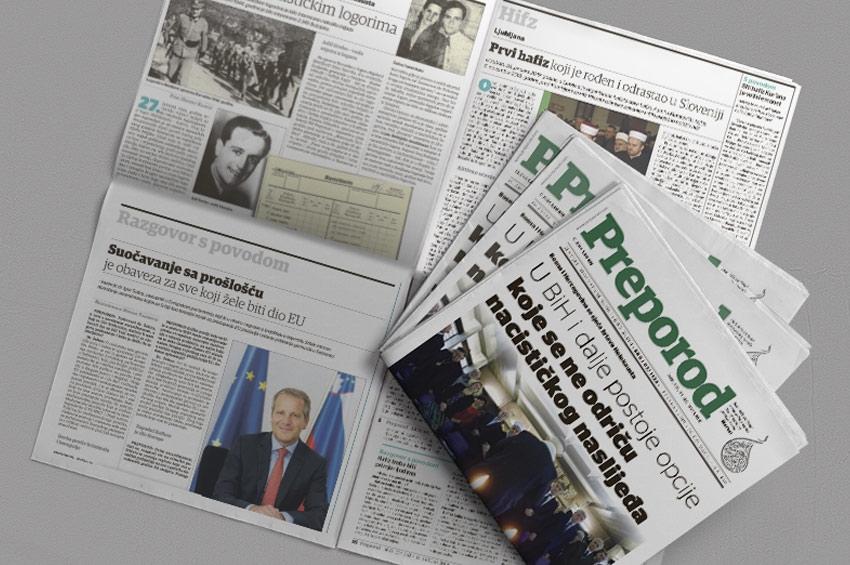 Novi broj Preporoda: U BiH i dalje postoje opcije  koje se ne odriču  nacističkog naslijeđa