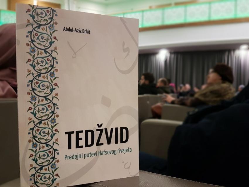 Promovirana knjiga hafiza Abdul-Aziza koji ima sened u kiraetu do Poslanika, a.s.