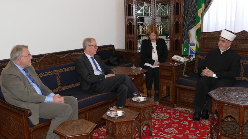 Delegacija iz Švedske kod reisu-l-uleme