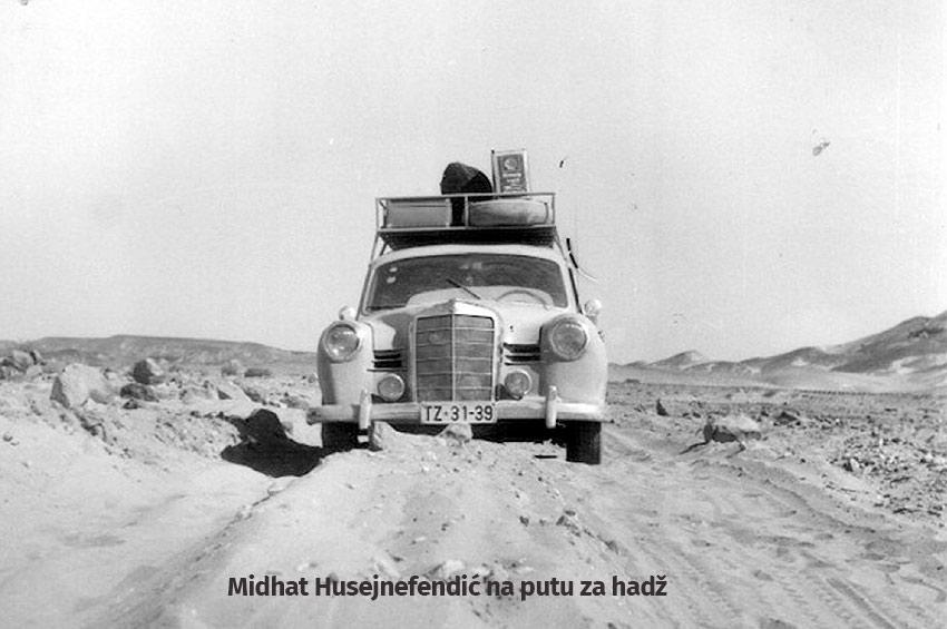 Prvi hadžija iz Jugoslavije koji je automobilom otišao na hadž