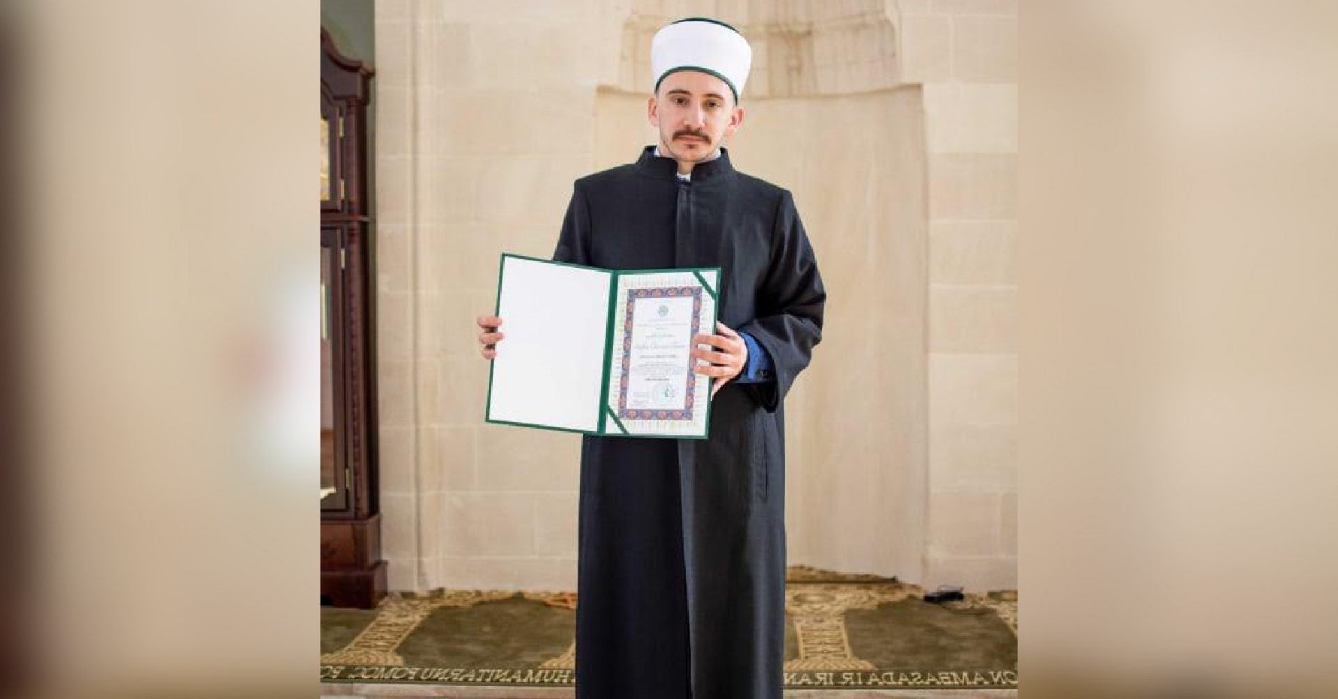 Profesor književnosti s titulom hafiza