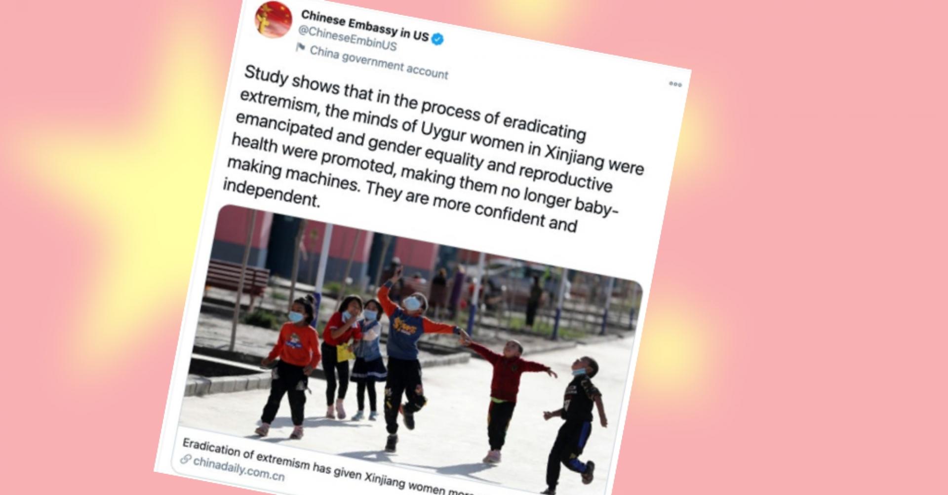 """""""Emancipacija"""" ujgurskih žena kao dio genocida"""