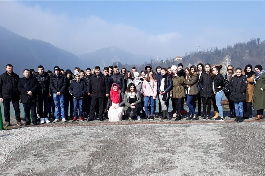 Mladi iz Srebrenika u Podrinju