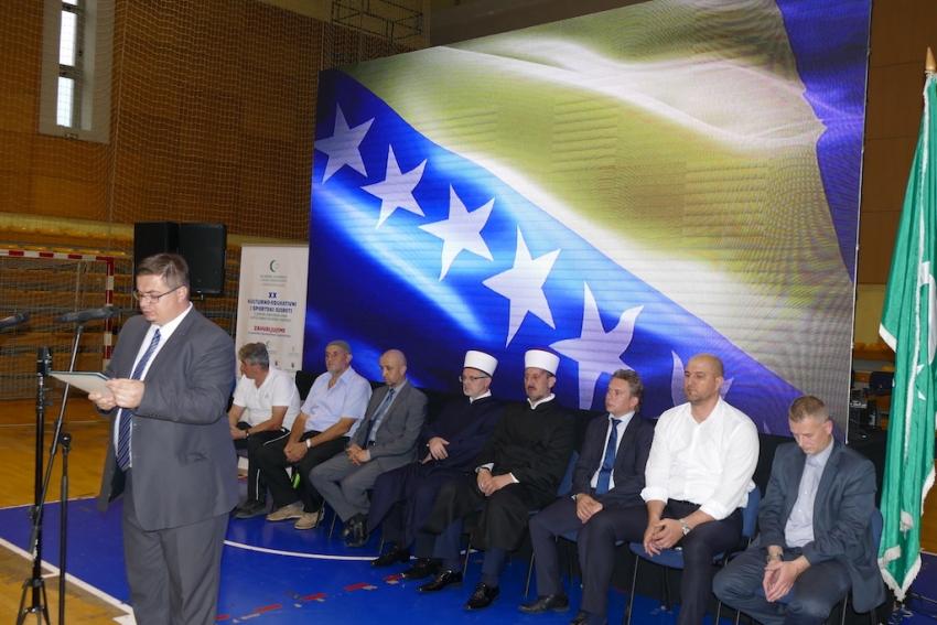 Otvoreni jubilarni susreti članova Udruženja ilmijje i uposlenika IZ