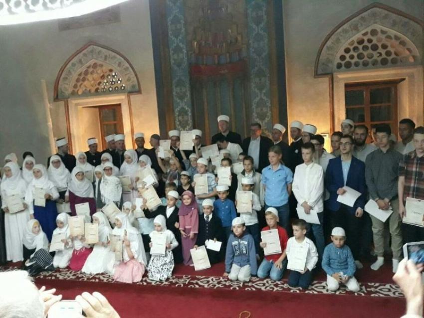 250 polaznika Škole hifza Muftijstva sarajevskog naučilo Amme džuz