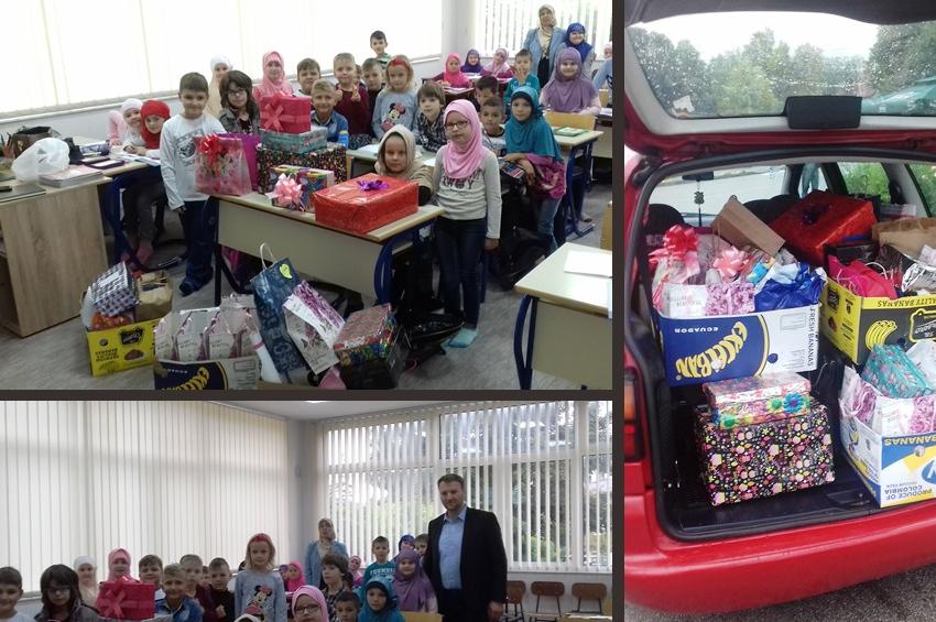 Kakanj: Paketići za djecu u bolnici