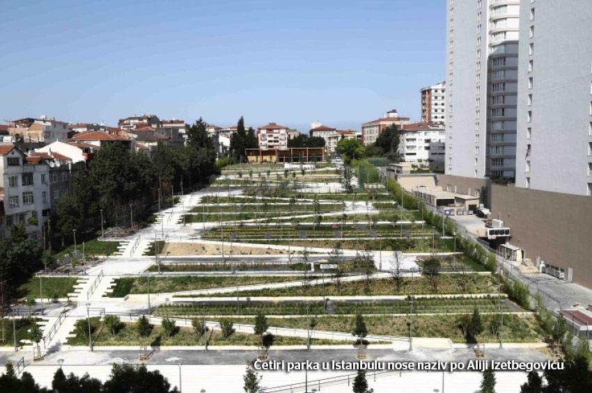 Još jedan park Alije Izetbegovića u Istanbulu