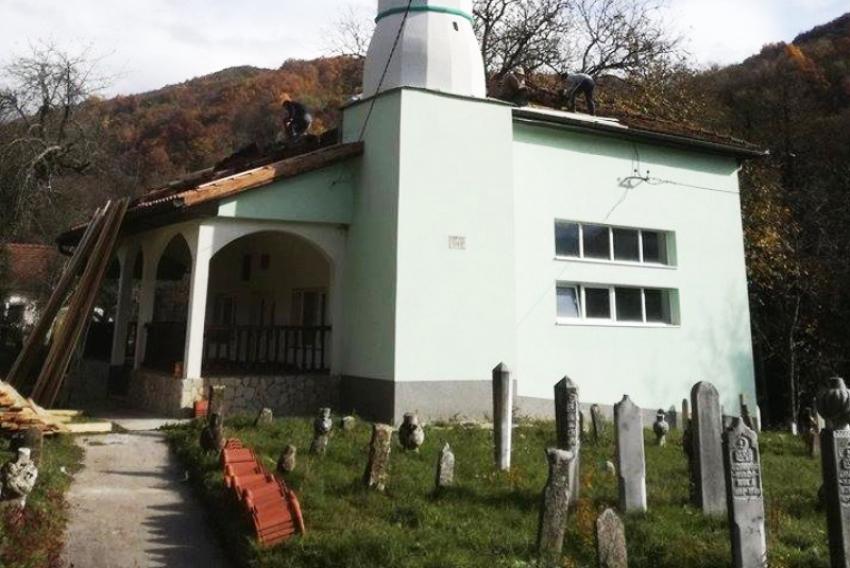 Radovi na džamiji u Seonici