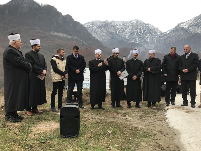Jablanica: Položen kamen-temeljac za izgradnju mesdžida u naselju Zlate