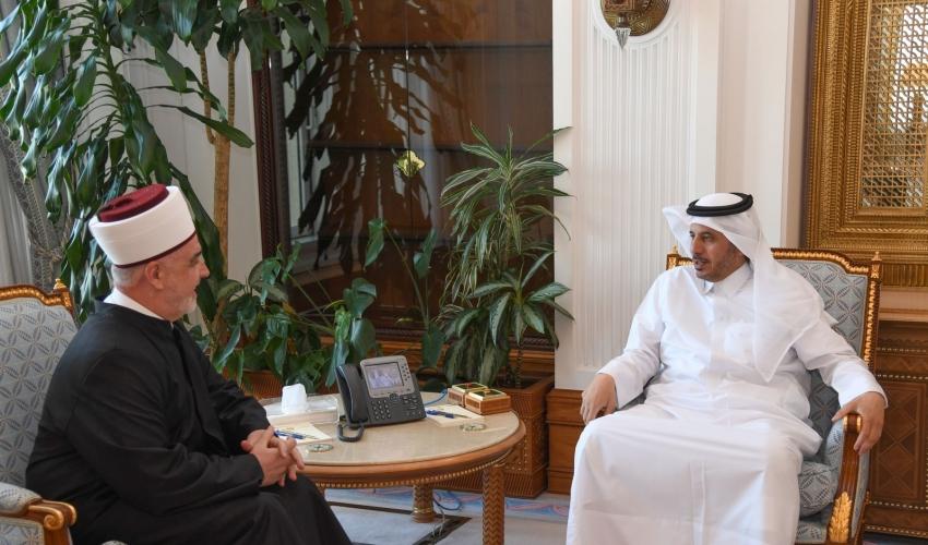 Reisu-l-ulema sa premijerom Države Katar